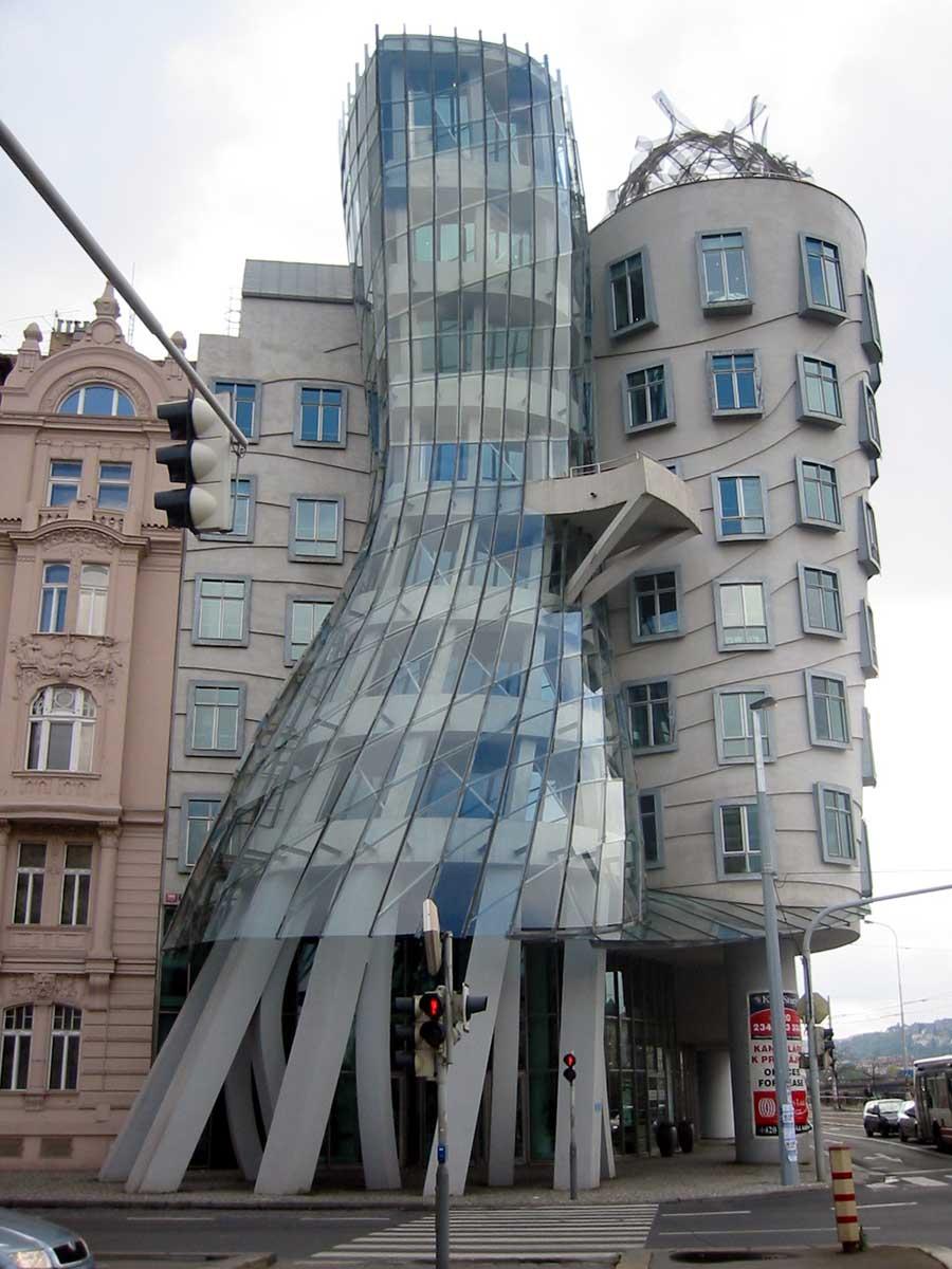 The Dancing House Czech Republic